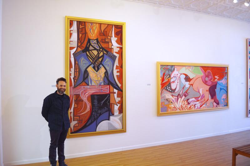 Ian James Roche in gallery